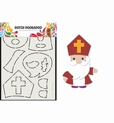 Dutch Doobadoo Card Art Build up Sinterklaas