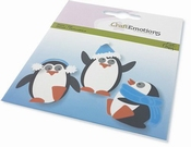 CraftEmotions Die - Carla Creaties Penguin