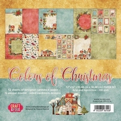 Craft & You | Paperpad 12 x 12 inch - Colors of Christmas