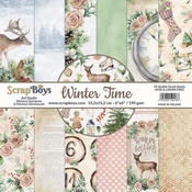 Scrapboys | Winter Time Paperpad 6