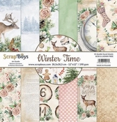 Scrapboys | Winter Time Paperset 12