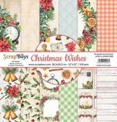 Scrapboys | Christmas Wishes Paperset 12 x 12 inch