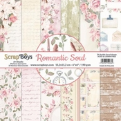 Scrapboys | Romantic Soul Paperpad 6