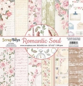 Scrapboys | Romantic Soul Paperset 12 x 12 inch