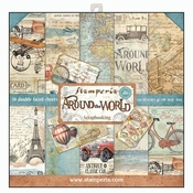 Stamperia | Around the World Scrapbooking  12