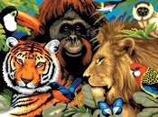 Painting by Numbers Safari Scene | A3 formaat