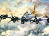 Painting by Numbers Flying Fortress | A3 formaat