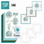 Stitch and Do 144 - Yvonne Creations - Edelweiss