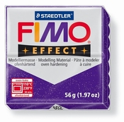 Fimo Effect Glitter Paars
