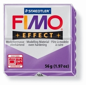 Fimo Effect Translucent Paars