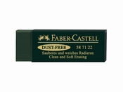 Faber Castell Dust Free Gum GREEN
