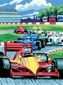 Painting by Numbers Junior Formule 1 | A4 formaat