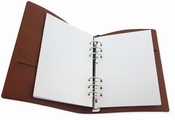 CraftEmotions Ringband Planner   148x210mm   A5   Cognac
