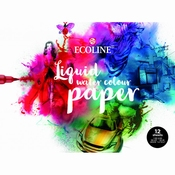 Talens Ecoline Liquid Watercolor Paper A4 | 12 vel