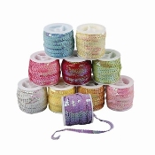 Pailletten lint - Assortiment, 6 mm,