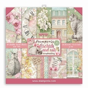 Stamperia | Orchids and Cats Scrapbooking  12