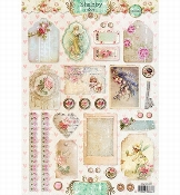 Studio Light knipvel |  Shabby Chic Nr.1302
