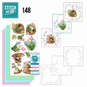 Stitch and Do 148 Amy Design - Friendly Frogs