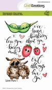 CraftEmotions stempel A6 | Carla Creaties | Love Puns 1