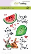 CraftEmotions stempel A6 | Carla Creaties | Love Puns 3