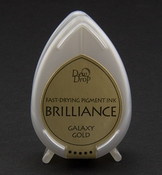 Brilliance Dew Drop inktkussen Galaxy Gold
