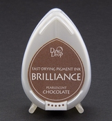 Brilliance Dew Drop inktkussen Pearlescent Chocolate