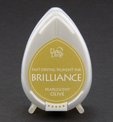 Brilliance Dew Drop inktkussen Pearlescent Olive