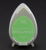 Brilliance Dew Drop inktkussen Pearlescent Lime