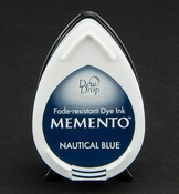 Memento Dew Drop Nautical Blue
