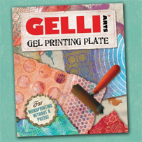 Gelli Plate - Gel press plate - monoprint