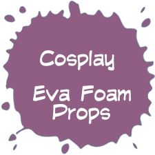 Cosplay workshop in EVA foam of workshop Worbla