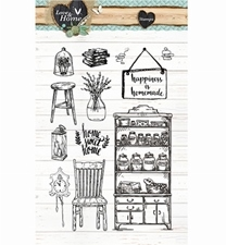 Studio Light Love & Home stempel