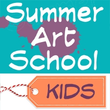 Summer Art School Kids
